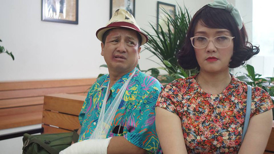 Chí Trung - Vân Dung lần đầu yêu nhau trên sóng truyền hình - Ảnh 1.