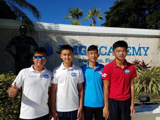 Văn Phương vào tứ kết giải ITF ở Mỹ - Ảnh 1.