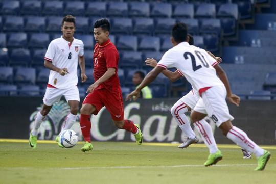 U23 Việt Nam theo đuổi lối chơi 3-4-3 - Ảnh 1.