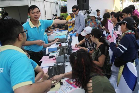 Ngày hội du lịch TP HCM kéo dài từ ngày 23 đến 26-3 tại công viên Lê Văn Tám (Q1, TP HCM) với hơn 30 đơn vị lữ hành, khách sạn, khu du lịch