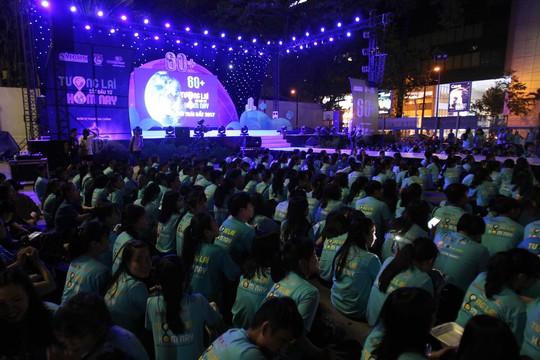 Sự kiện Chung tay tắt điện toàn cầu Giờ trái đất năm 2017 đã diễn ra tại Nhà Văn hoá Thanh niên TP HCM.