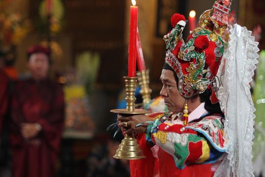 Lễ giỗ tổ Hùng Vương diễn ra trang trọng.