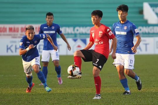 Đội bóng Long An đã có một trận thi đấu hết mình tuy nhiên họ đã không giữ vững được lợi thế