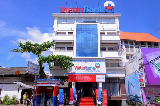 Trụ sở VietinBank Lào tại thủ đô Viêng Chăn
