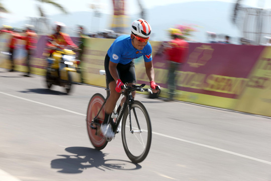 Desriac Loic lên tiếng ở Giải Xe đạp quốc tế VTV 2017 - Ảnh 1.