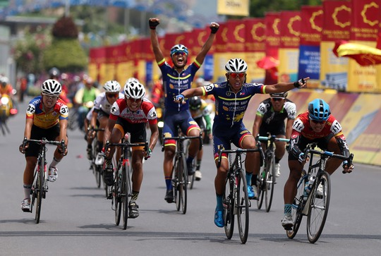 Morales nhất chặng 11 Giải xe đạp VTV - Ảnh 6.