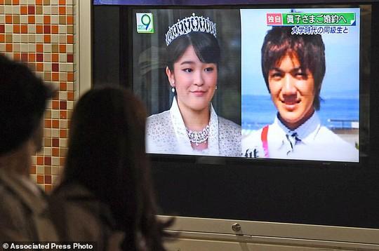 Công chúa Nhật Bản từ bỏ địa vị, lấy chồng thường dân - Ảnh 1.