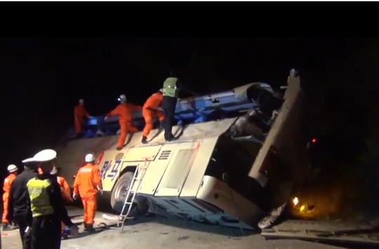 Vụ tai nạn khiến 10 người thiệt mạng. Ảnh: Astro Awani