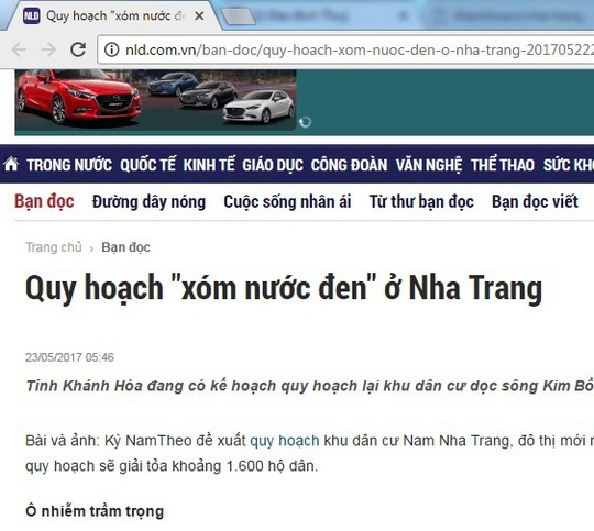 Website xào nấu thông tin khanhhoa.tv đã ngừng hoạt động - Ảnh 2.