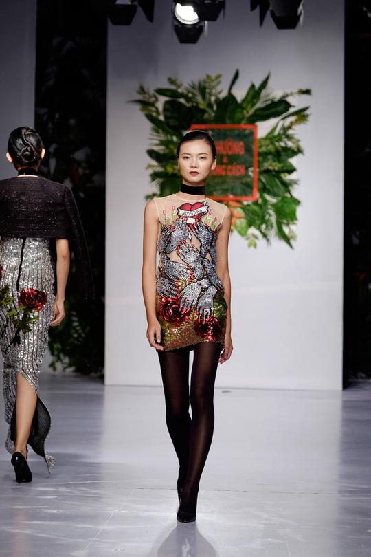 Sắc màu xuân hè thời trang Việt - Ảnh 7.