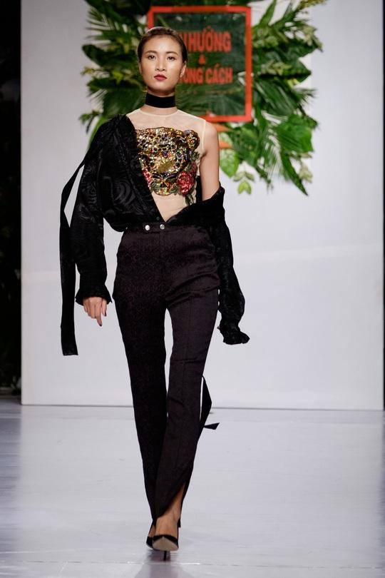 Sắc màu xuân hè thời trang Việt - Ảnh 9.