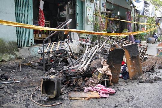 Cứu cháu trong đám cháy kinh hoàng, bà cũng thiệt mạng - Ảnh 3.