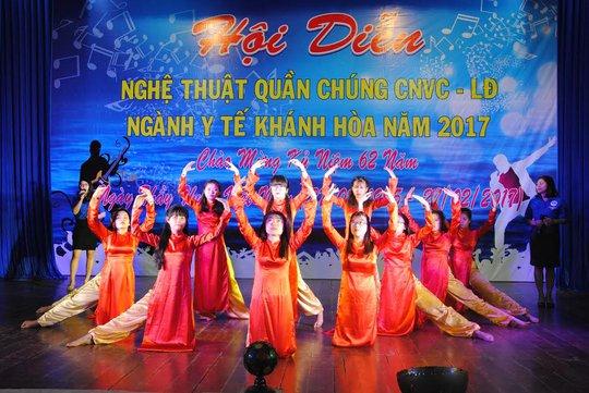 Nhiều tiết mục được đánh giá cao tại hội diễn ngành Y Khánh Hòa