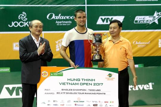 Youzhny vô địch Giải Việt Nam mở rộng 2017 - Ảnh 1.