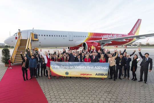 Vietjet nhận máy bay A321neo thế hệ mới đầu tiên tại khu vực Đông Nam Á - Ảnh 2.