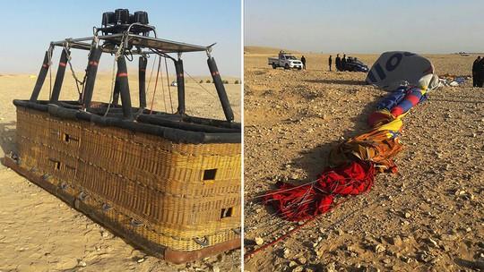 Khinh khí cầu đang bay rơi xuống đất, 13 người thương vong - Ảnh 2.