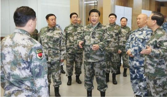 Hé lộ hầm trú hạt nhân của giới lãnh đạo Trung Quốc - Ảnh 1.