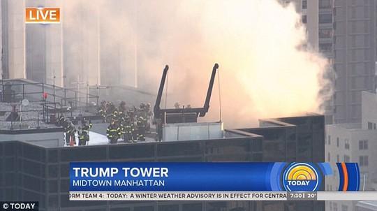 Tòa nhà Trump Tower xảy ra hỏa hoạn - Ảnh 1.