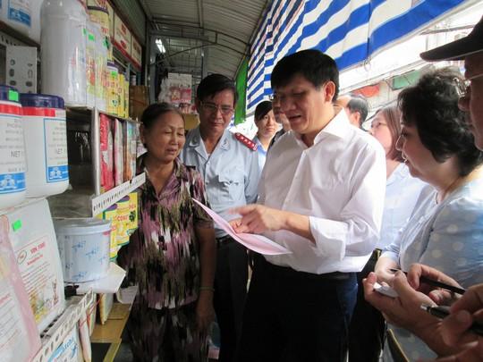 Tiểu thương chợ Kim Biên ngại mang tiếng xấu - Ảnh 1.