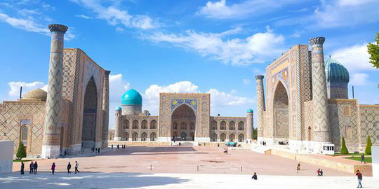 Đất nước đối thủ Uzbekistan đẹp và tráng lệ đến khó tin - Ảnh 6.
