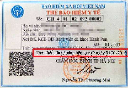 Thẻ BHYT in sai, gây thiệt thòi quyền lợi người bệnh - Ảnh 1.