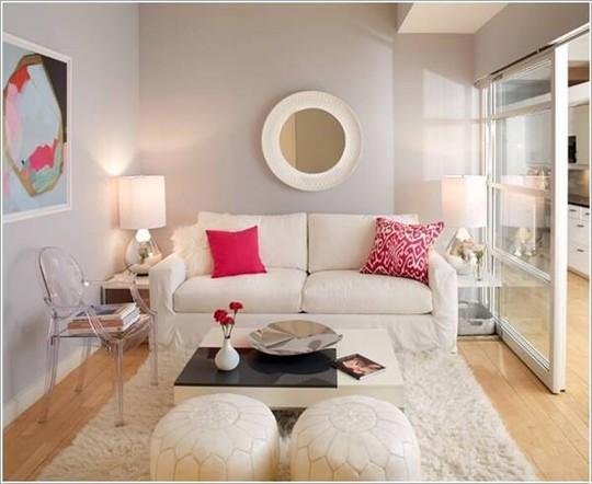 10 cách tuyệt vời trang trí cho phòng khách nhỏ - Ảnh 2.