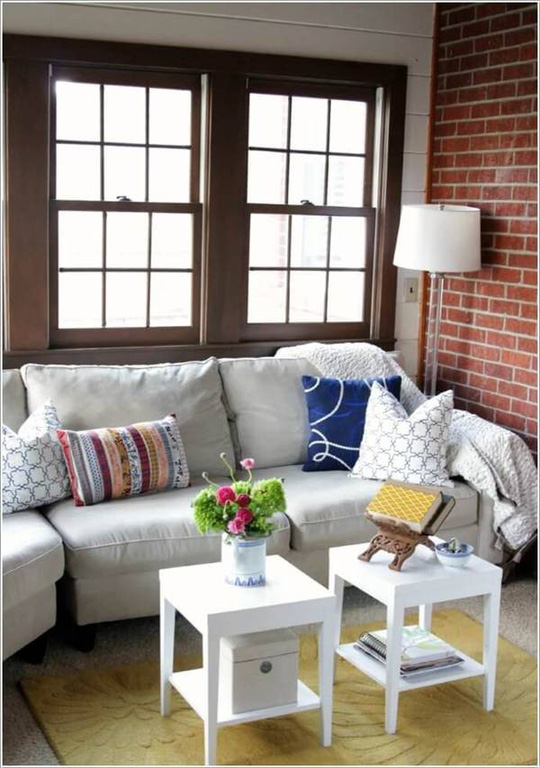 10 cách tuyệt vời trang trí cho phòng khách nhỏ - Ảnh 3.