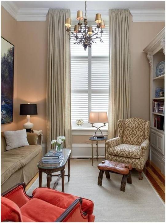 10 cách tuyệt vời trang trí cho phòng khách nhỏ - Ảnh 4.