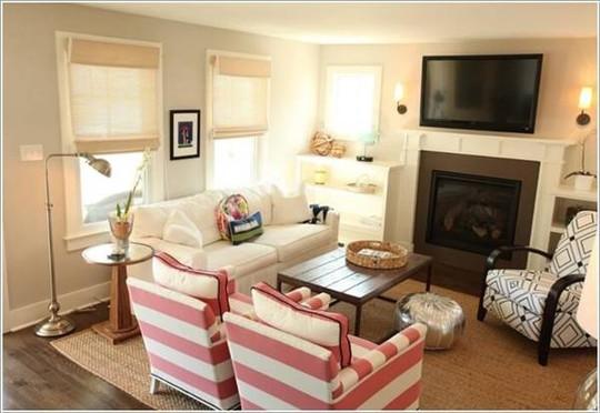 10 cách tuyệt vời trang trí cho phòng khách nhỏ - Ảnh 9.