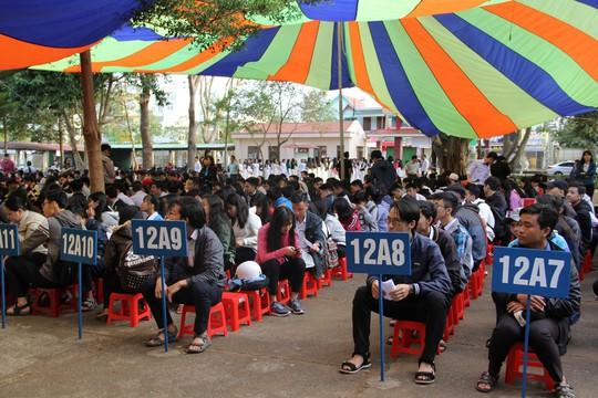 Đưa trường học đến thí sinh 2018 tại Đắk Lắk: Mê sư phạm nhưng sợ thất nghiệp - Ảnh 2.