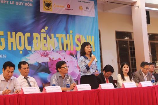 Đưa trường học đến thí sinh 2018 tại Đắk Lắk: Mê sư phạm nhưng sợ thất nghiệp - Ảnh 7.