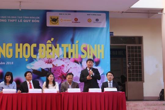 Đưa trường học đến thí sinh 2018 tại Đắk Lắk: Mê sư phạm nhưng sợ thất nghiệp - Ảnh 12.
