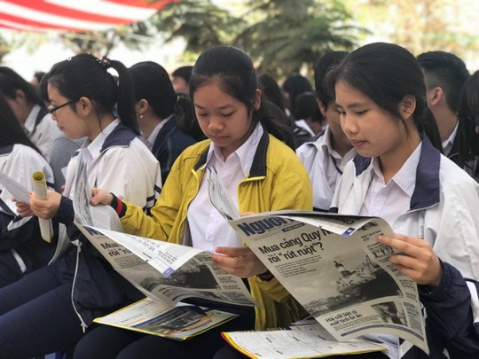 Đưa trường học đến thí sinh 2018 tại Gia Lai: Ngành CNTT dễ bị đào thải? - Ảnh 14.