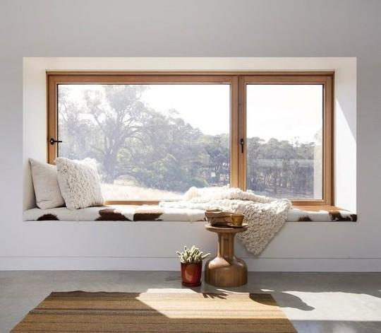 Biến bậc cửa sổ thành thiên đường thư giãn - Ảnh 12.