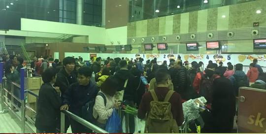 Hệ thống check in của Vietjet bất ngờ tê liệt tại một số sân bay - Ảnh 1.