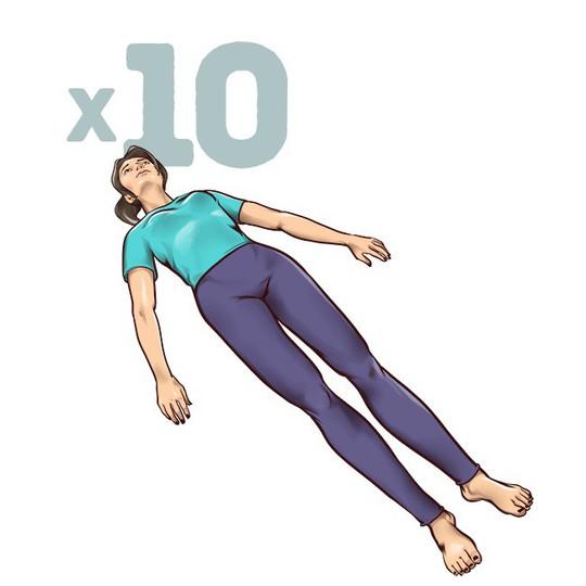 7 động tác đập tan cơn đau mỏi lưng chỉ trong 1 phút - Ảnh 3.