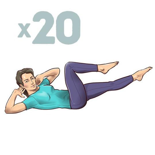 7 động tác đập tan cơn đau mỏi lưng chỉ trong 1 phút - Ảnh 4.