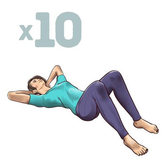 7 động tác đập tan cơn đau mỏi lưng chỉ trong 1 phút - Ảnh 7.