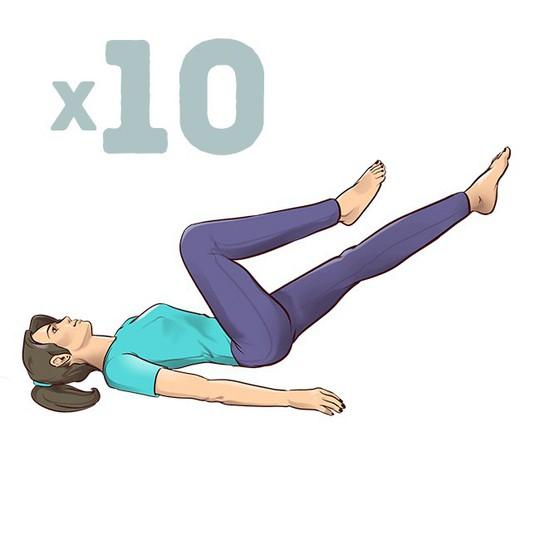 7 động tác đập tan cơn đau mỏi lưng chỉ trong 1 phút - Ảnh 8.