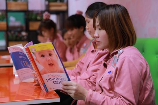 """Độc đáo mô hình khu tiện ích """"MOMMY ROOM"""" ở Samsung Việt Nam - Ảnh 1."""