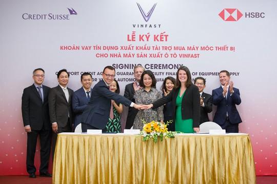 VinFast được bảo lãnh khoản vay 950 triệu USD nhập khẩu thiết bị - Ảnh 1.