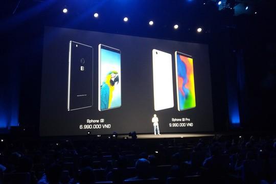 Ra mắt Bphone 3 có thiết kế tràn đáy và chống nước - Ảnh 4.