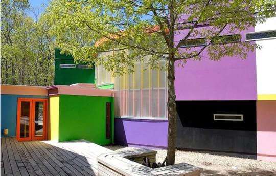 Ngôi nhà được thiết kế để người ở trẻ lâu - Ảnh 3.