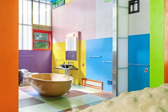 Ngôi nhà được thiết kế để người ở trẻ lâu - Ảnh 6.