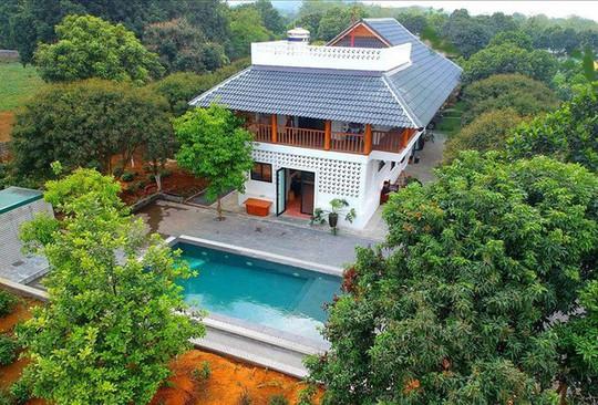 Homestay giữa vườn vải của nhà thiết kế thời trang Hà Nội - Ảnh 1.