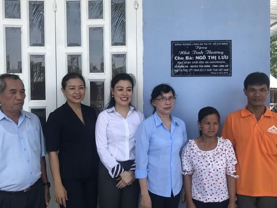 VWS tặng nhà tình thương cho nạn nhân chất độc da cam - Ảnh 2.