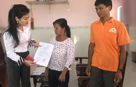 VWS tặng nhà tình thương cho nạn nhân chất độc da cam - Ảnh 1.