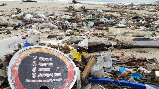 Hàng chục tấn rác bủa vây 9 km bờ biển Đà Nẵng - Ảnh 5.