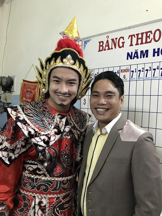NS Le Van Gan  Nho thuo xe om tich cuc lam viec thien