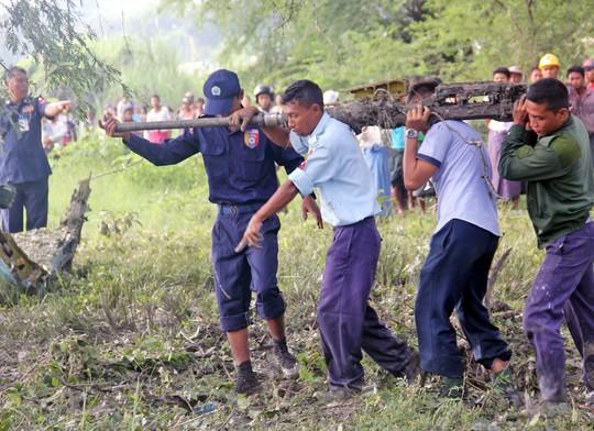 Myanmar: Rơi 2 chiến đấu cơ Trung Quốc sản xuất, 3 người chết - Ảnh 3.
